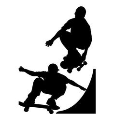 ACHICA | RoomMates Chalkboard Skater Wall Stickers