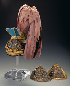 21st or Empress of India's Lancers Officer's Czapka with Two Additional Lance Cap Plates