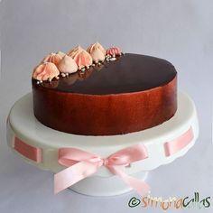 Tort Seherezada – un desert oriental - simonacallas Chocolate Lovers, Chocolate Cake, Chocolate Cherry, Sour Cherry, Something Sweet, Vanilla Cake, Food Photography, Wedding Cakes, Cheesecake