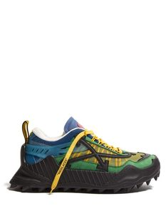lowest price da4ba 85f25 OFF-WHITE Odsy-1000 contrast-panel low-top trainers.  off