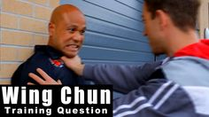 Wing Chun training - wing chun how to deal with throat grab in the stree...