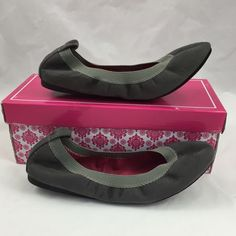 NWT Beautiful In Grey Fabulous flats by Wanted !! Size 7.5 or Medium in Persuade Grey. New and still in the box with tag on the box! Wanted Shoes Flats & Loafers