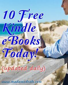 10 Free Kindle eBooks Today! hp=492378 http://www.amazon.com/dp/B00EBZACXA