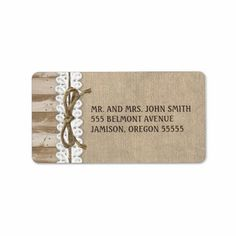 >>>Best          Rustic Burlap Barn Wood Twine Address Labels           Rustic Burlap Barn Wood Twine Address Labels Yes I can say you are on right site we just collected best shopping store that haveThis Deals          Rustic Burlap Barn Wood Twine Address Labels please follow the link to ...Cleck Hot Deals >>> http://www.zazzle.com/rustic_burlap_barn_wood_twine_address_labels-106024579025664774?rf=238627982471231924&zbar=1&tc=terrest
