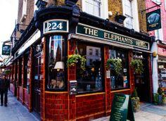 The Elephants Head Pub, London