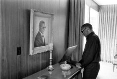 Bill Ray—Time & Life Pictures/Getty Images Not published in LIFE. Ray Charles at home in Los Angeles, 1966