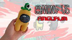 AMONG US // Amigurumi tutorial - YouTube