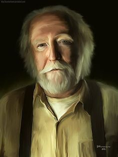 Amazing artwork of Hershel...by BezerkArtwerk-DeviantArt