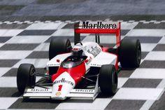 frenchcurious - Alain Prost (McLaren-TAG) Grand Prix de France -...