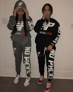 Top 15 Siangie Twins Outfits for You And Your Twin Lit Outfits, Jordan Outfits, Dope Outfits, Outfits For Teens, Casual Outfits, Sangie Twins Outfits, Urban Fashion, Look Fashion, Teen Fashion