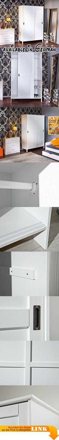B01GRYZ6HO  Express Möbel Kleiderschrank Schlafzimmerschrank Weiß - schlafzimmerschrank weiß hochglanz