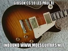 Gibson Custom Shop Guitars inbound from one of the largest collectors in the USA. Soon to be posted below market value at www.moesguitars.net