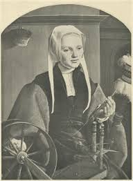 Anna Codde at a spinning wheel - Google Search