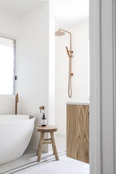 We sometimes take home the stresses we've acquired throughout the day. Allow your bathroom to dissolve them. Create a space that feels personal and tranquil, so when you need it, you can always find solace in your bathroom. We hope our range of tapware can reflect a part of you and what you'd like to exude in your home. Beautiful project by @our.talle.project ❤️⠀ Bathroom Trends, Bathroom Renovations, Bathroom Interior, Modern Bathroom, Bathrooms, Interior Decorating, Interior Design, Laundry In Bathroom, Bathroom Layout