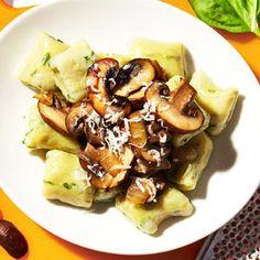 Basil Gnocchi With Mushroom Ragu - Fitnessmagazine.com