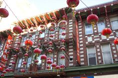 San Francisco's Chinatown, ready for Chinese New Year