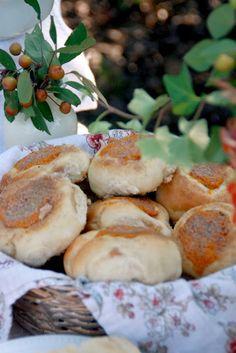 Pumpkin-Cream Cheese Kolaches