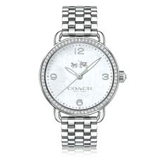 COACH Delancey Stainless Steel Bracelet Watch 28mm