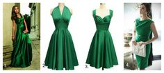 Braut Concierge I Smaragd-Grüne Kleider