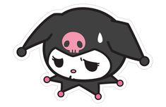 kuromi kuromisticker sanrio sanriocharacters hellokitty... Sanrio Hello Kitty, Hello Kitty My Melody, Blackwork, Kawaii Tattoo, Doodle Tattoo, Overlays Picsart, Hello Kitty Pictures, Bad Cats, Cat Stickers