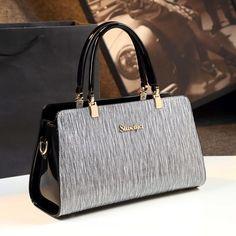 Trending Handbags, Bag Quotes, Patent Leather Handbags, Shoes World, Handbag Stores, Purses And Bags, Women's Bags, Vintage Bags, Fashion Bags