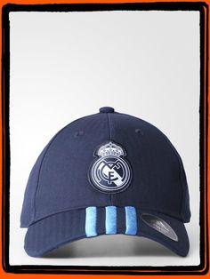 Gorra Adidas Azul Real Madrid 3 Rayas  Producto Oficial  Ref. AA1047  Talla Única  Precio $ 60.900