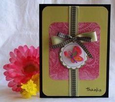 handmade card ideas thank you