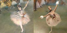 Misty Copelandchannels artist Edgar Degas's most famous ballet works.