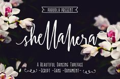 ShellaHera is a handwritten script font family made using original brush pen and scanned with high resolution make this font is very personality and yes.