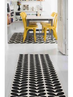 Kunststoff Outdoor Läufer Karin in schwarz #benuta #teppich #skandi #interior #rug