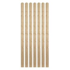 Outdoor Essentials 5/8 in. x 3-1/2 in. x 6 ft. Moulded Spruce Dog Ear Fence Picket (7-Pack)