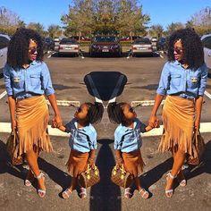 #mommyandme #africangirlskillingit #hawt_fashions
