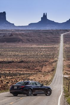 The #newQuattroporte and the Monument Valley.