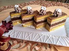 Yummy recipes: Walnut slices with walnut liqueur Vanilla Cake, Cake Recipes, Yummy Recipes, Tiramisu, Waffles, Diy And Crafts, Yummy Food, Treats, Breakfast