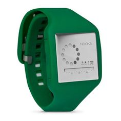 Zub 20 Zirc Watch Green Silver, 51€, now featured on Fab.