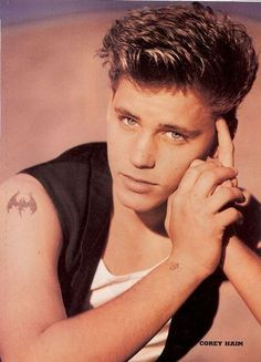 Corey Haim - OMG, I had the biggest crush on him :) <3