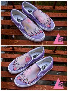 Girly Zombie Feet Shoes by chooseyourshoes, via Flickr