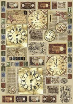 Various Time Clocks