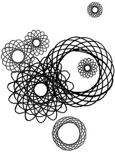 """spirograph. i loved using that """"game"""" as a child and have always thought it would make a good tattoo."""