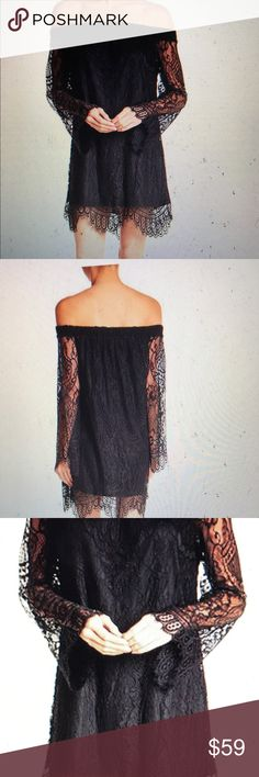 Off the shoulder Lace dress New with tags Fire Dresses