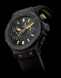Hublot ....el juguete perfecto para ver la hora : ) y que mejor si es Ayrton Senna Collection.