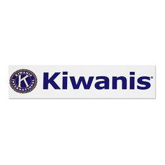 Kiwanis Bumper Sticker Thumbnail