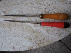 2 Handsaw V-File Carpentry Tools