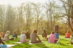 """Photo: Ziva Meditation Not every meditation retreat is all silence and solitude. Case in point: This 25-person getaway, led by preternaturally charming Vedic meditation instructor Emily Fletcher, is super social. Guests will, of course, do plenty of meditating—morning and evening sessions, as well as a crash-course in rounding (an """"industrial strength"""" meditation technique)—but there's also lots of time for hanging out with your new pals, yoga classes (in a barn!), bodywork, Ayurvedic…"""