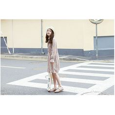Floral Print Tie-Neck Chiffon Dress (1,830 INR) ❤ liked on Polyvore featuring dresses, white chiffon dress, white necktie, long-sleeve floral dresses, white floral print dress and floral necktie