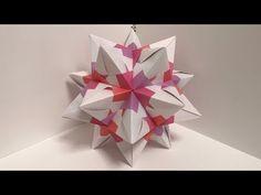 Diy Crafts - Craft Tips and Accessories Diy Origami, Origami And Kirigami, Origami Ball, Paper Crafts Origami, Paper Quilling, Diy Paper, Paper Art, Oragami, Origami Videos