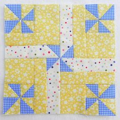 the confused quilter: Virtual Bee Block 9