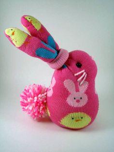 Coelhinho com meia