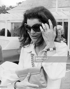 HER MAJESTY JACQUELINE KENNEDY THE FIRST — sophieandbrianna:   Jacqueline Kennedy Onassis at...