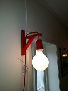 IKEA hacks Ikea Hacks, Lighting, Red, Home Decor, Decoration Home, Room Decor, Lights, Home Interior Design, Lightning